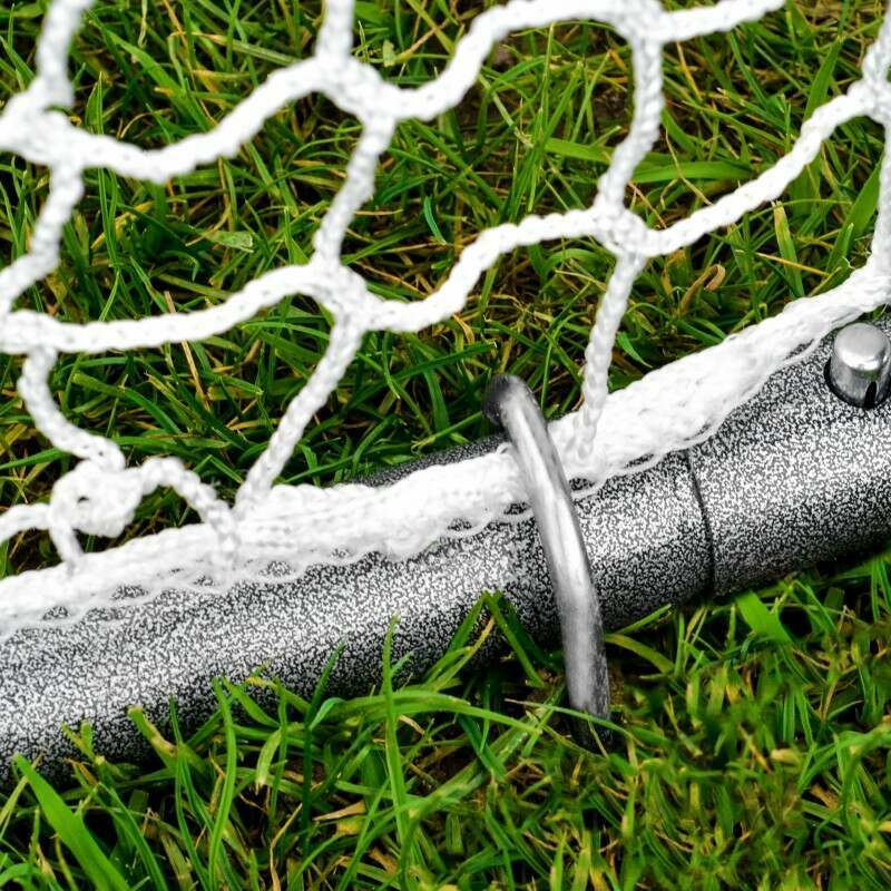 100% Weatherproof Steel Frame With HDPE Goal Net | Net World Sports