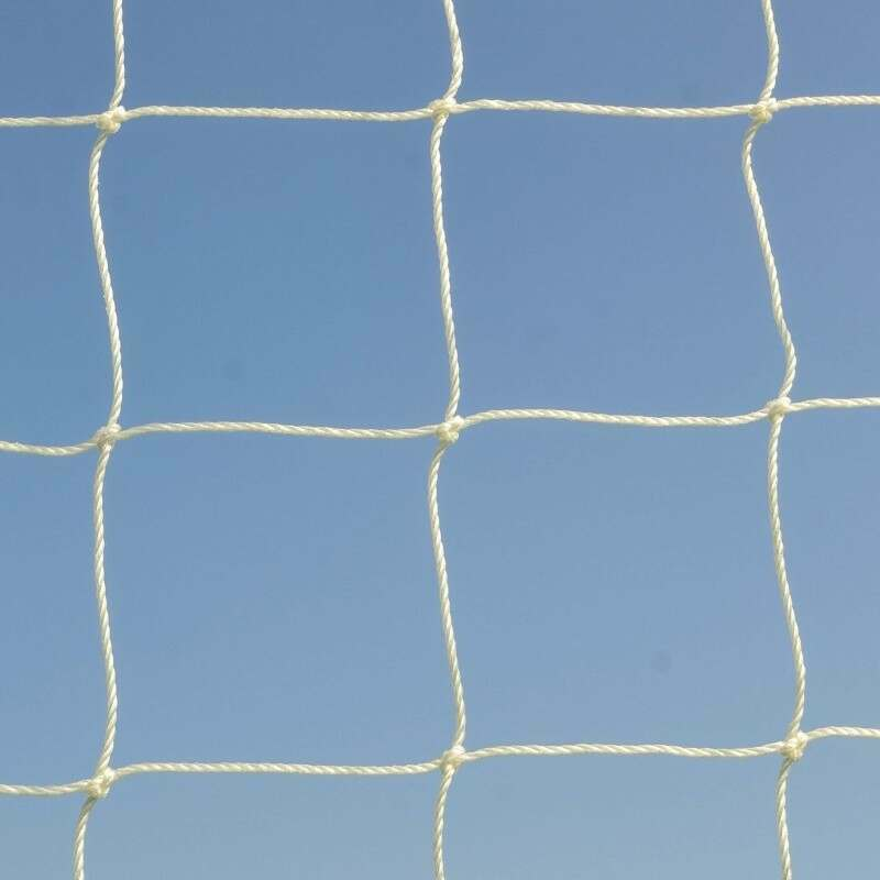 3mm HDPE Goal Net With 100mm Mesh For Exceptional Ball Resistance | Net World Sports