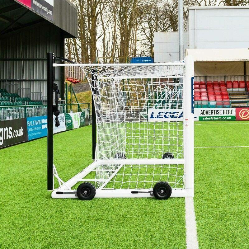 12 x 6 Stadium Box Football Goal For Under 11's