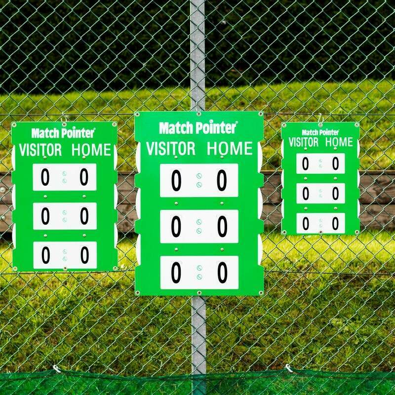 Fence Mounted Tennis Scoreboard | Tennis Scoreboard | Tennis Court Equipment | Vermont Sports