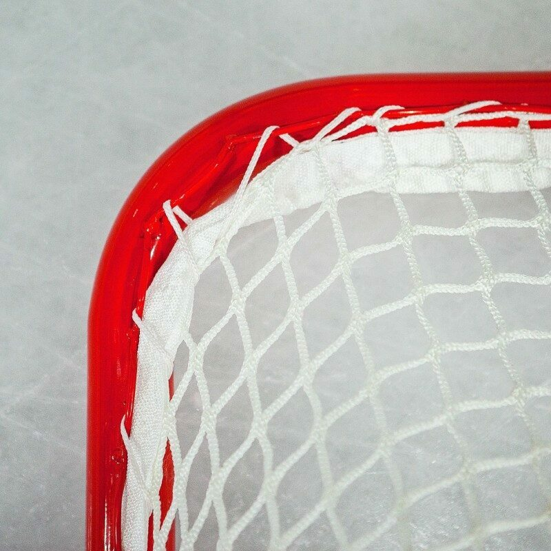 Welded Stringing Rail For Easy Net Attachment | Net World Sports