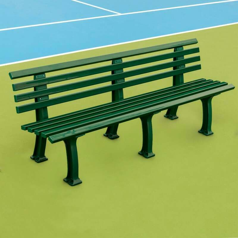 Professional Tennis Court Bench - 2 or 3 Seater Available | Vermont Sports