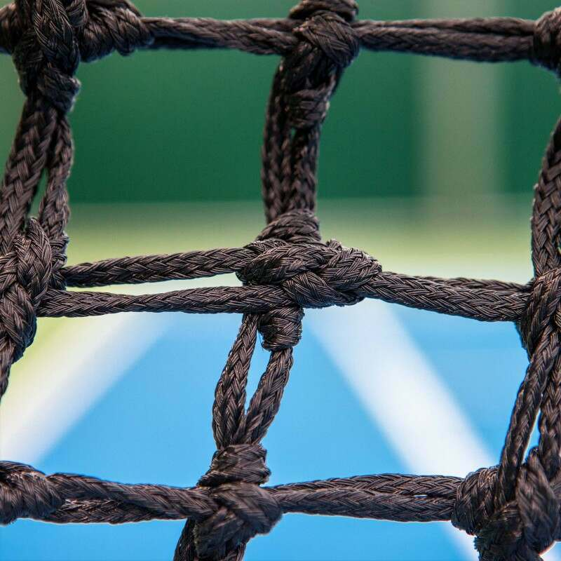 Durable Professional Tennis Net With 45mm Knotted Mesh | Net World Sports