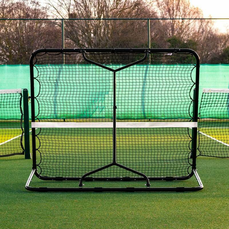 RapidFire Mega Tennis Rebounder | Groundstroke & Volleying Practice | Net World Sports