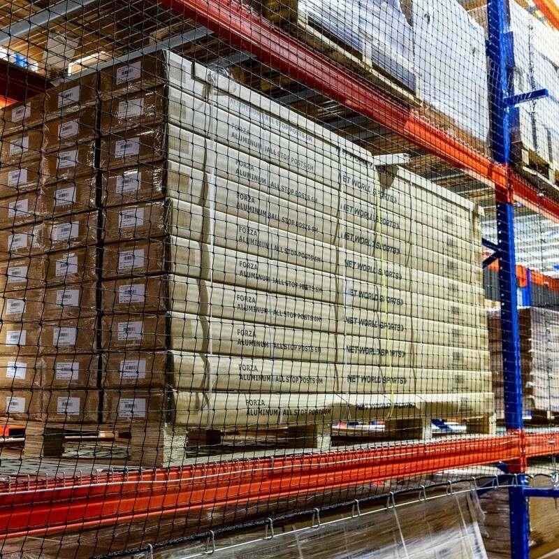 Heavy-Duty Warehouse Rack Netting