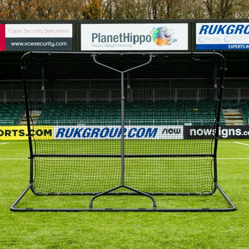 RapidFire Mega X Hockey Rebounder   High & Low Rebound Section   Net World Sports