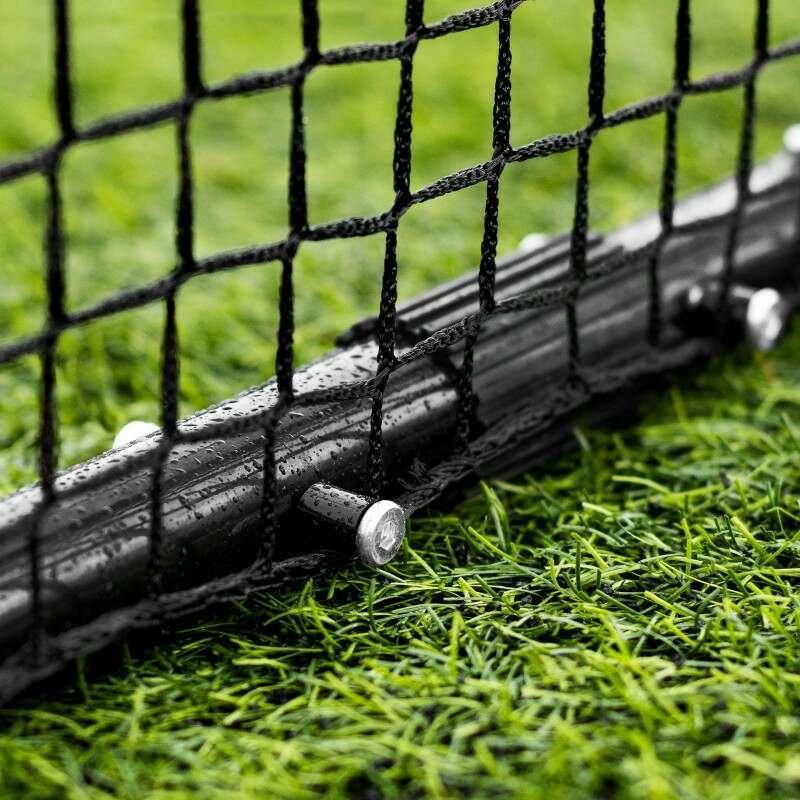 Freestanding Soccer Kickback Rebound Net