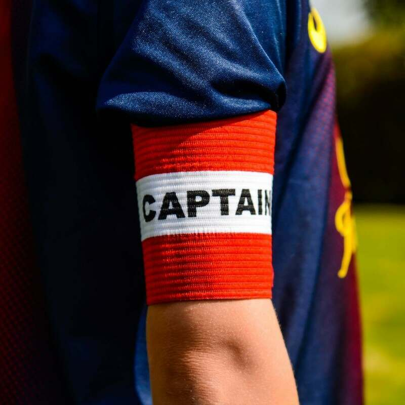 Red Captains Armband for Kids