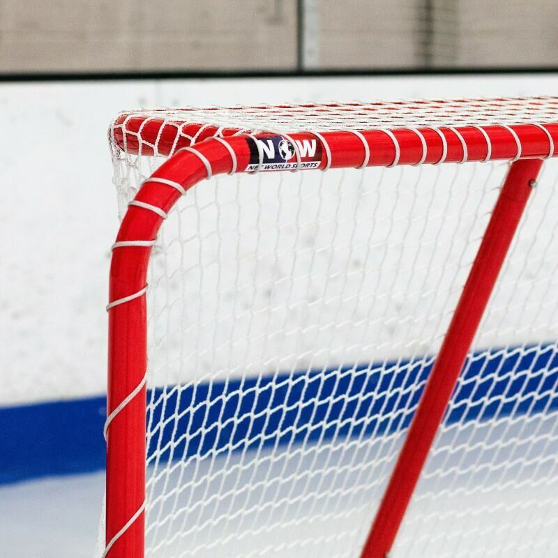 Hockey Net With 1.5in Galvanized Steel Frame | Net World Sports