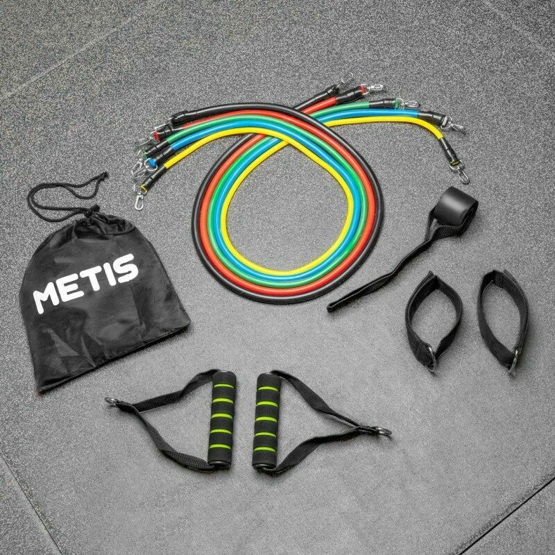 METIS Pulley Resistance Bands Set | Net World Sports