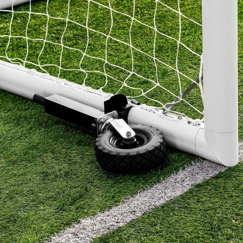 Soccer Goal Wheels For Movement In All Directions