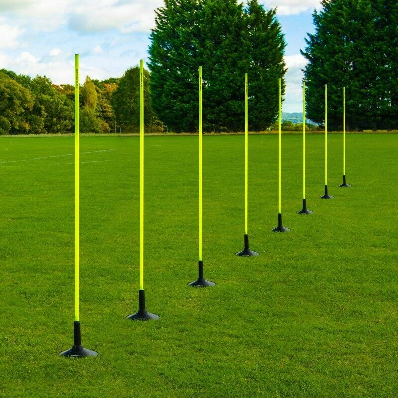 Shatterproof Plastic Slalom Poles For Astroturf