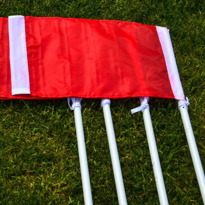 Rugby Corner Flags & Posts Set
