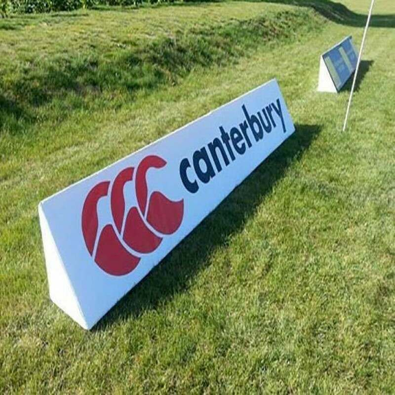 Rugby Pitch Advertising Wedges | Net World Sports