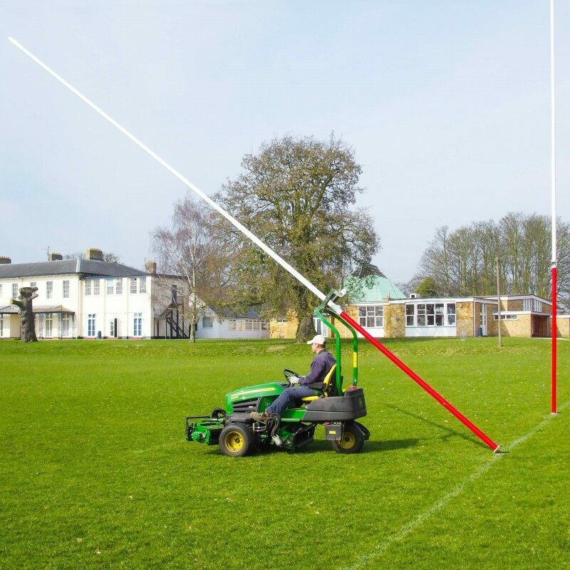 Hinged Rugby Post Assembly Roller | Rugby Posts