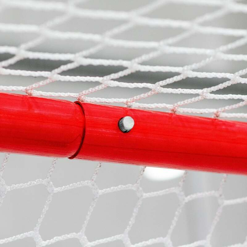 Hockey Goal With High Quality Steel Frame | Net World Sports