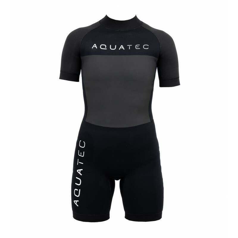 AquaTec Shorty Kids Wetsuit | 2mm | 4/3mm | Net World Sports