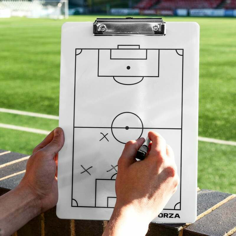 Dry Wipe Tactical Soccer Clipboard