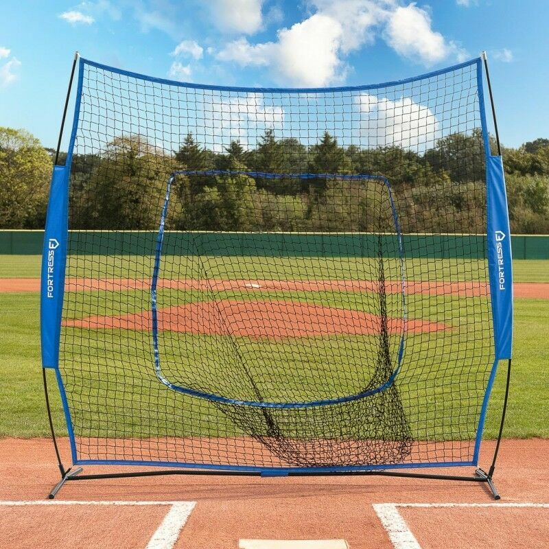7ft x 7ft FORTRESS Pop-Up Baseball Sock Net | Net World Sports
