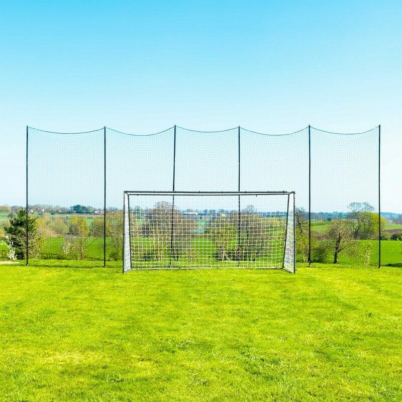 Ball Stop System For Back Gardens