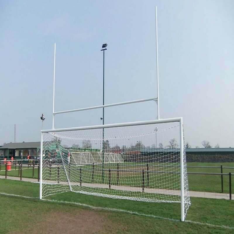 Socketed Aluminium Football & Rugby Combination Goals | Net World Sports