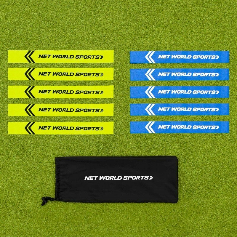 Pack Of 10 Flag Football Belts And Tags