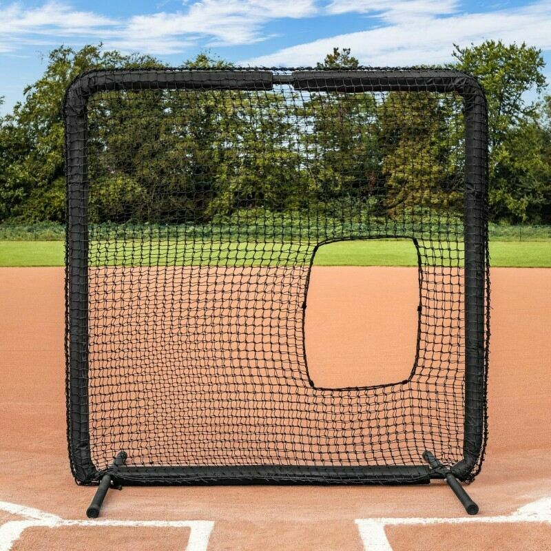 FORTRESS Softball Pitching Screen [Nimitz] | Net World Sports