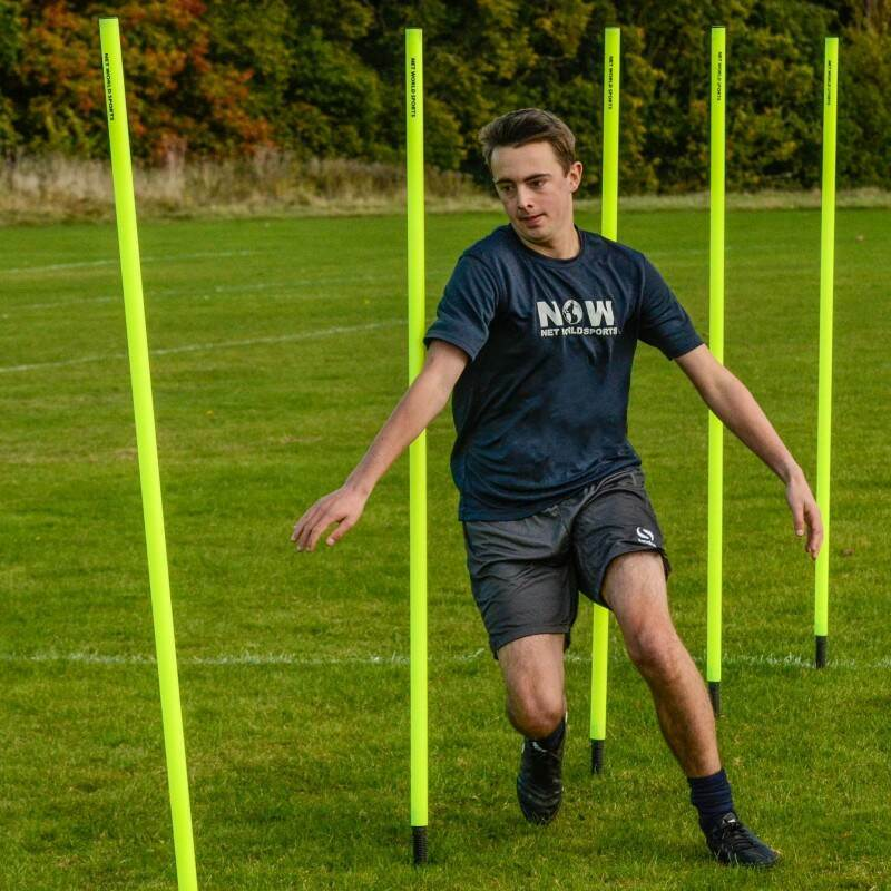 1.5m High Slalom Poles for Fitness Training
