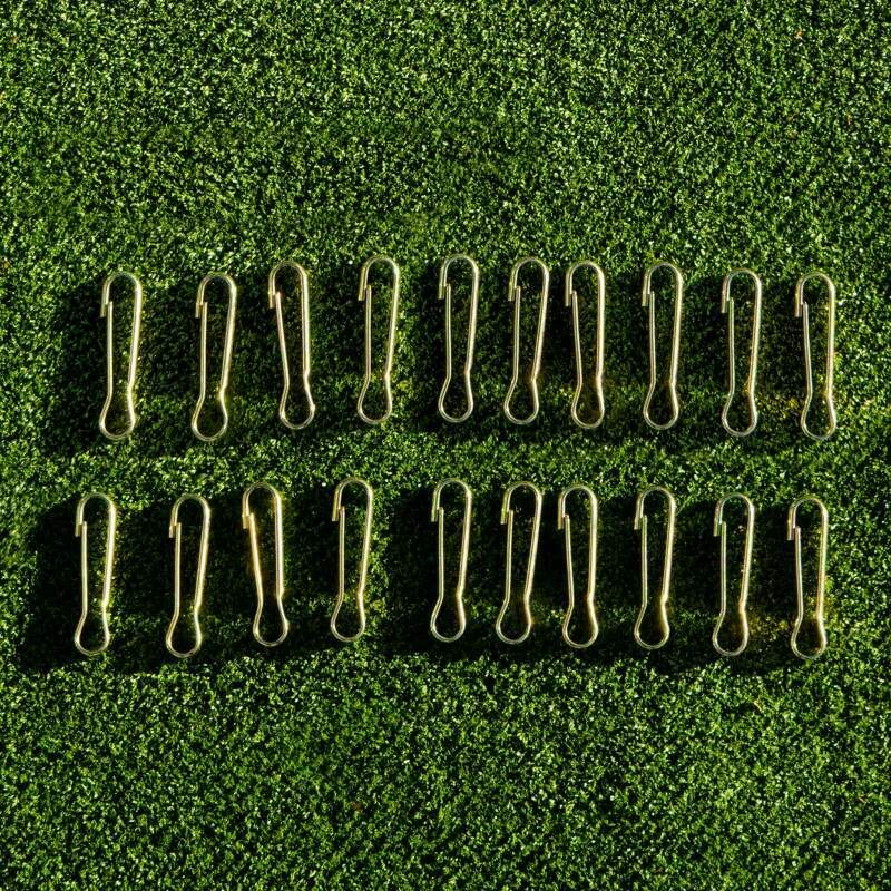 50 Cricket Net Spring Clips (Netting Accessories Set)