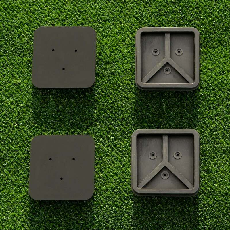 Square Tennis Post Socket Caps | Vermont UK