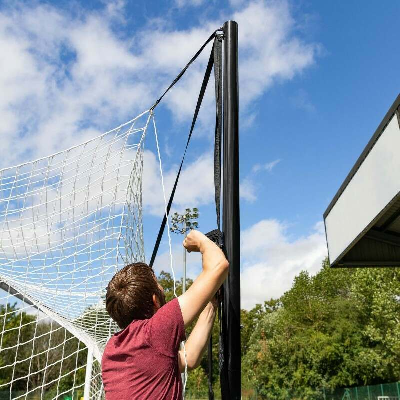 4-Point Football Net Tensioning System