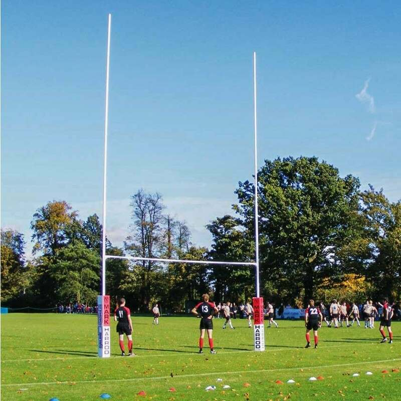 Steel Rugby Posts For Schools