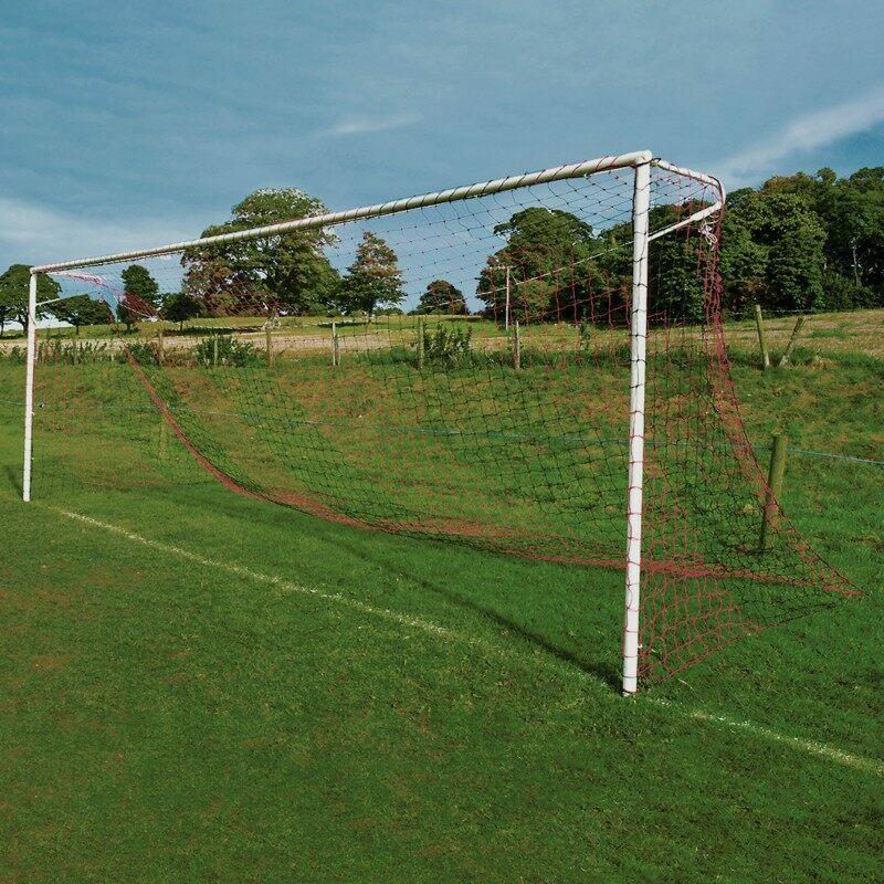 Custom Straight Back Football Nets | Net World Sports