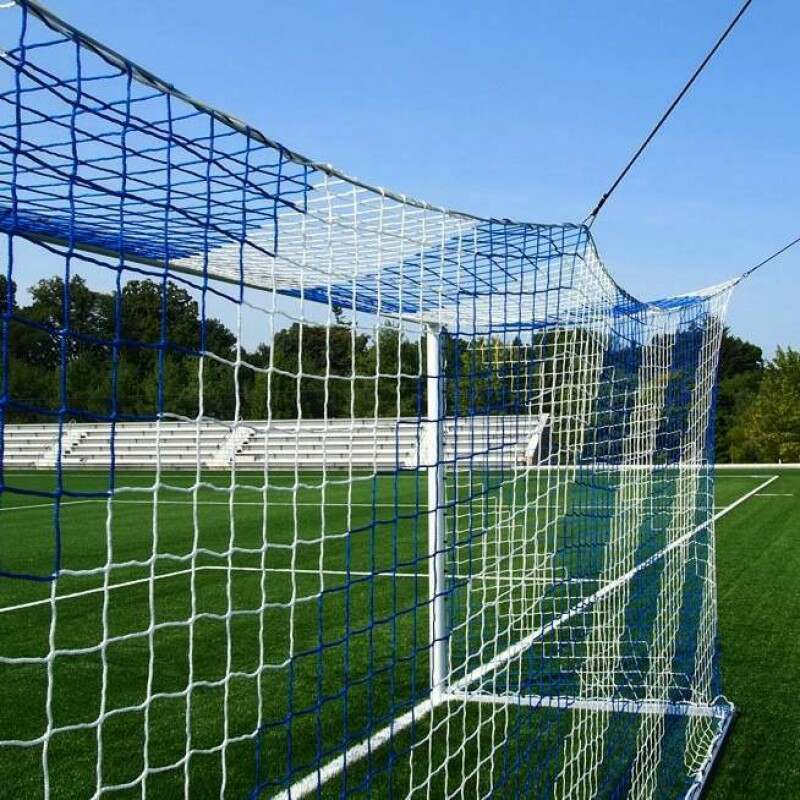 Striped Box Football Nets - Striped Soccer Box Nets