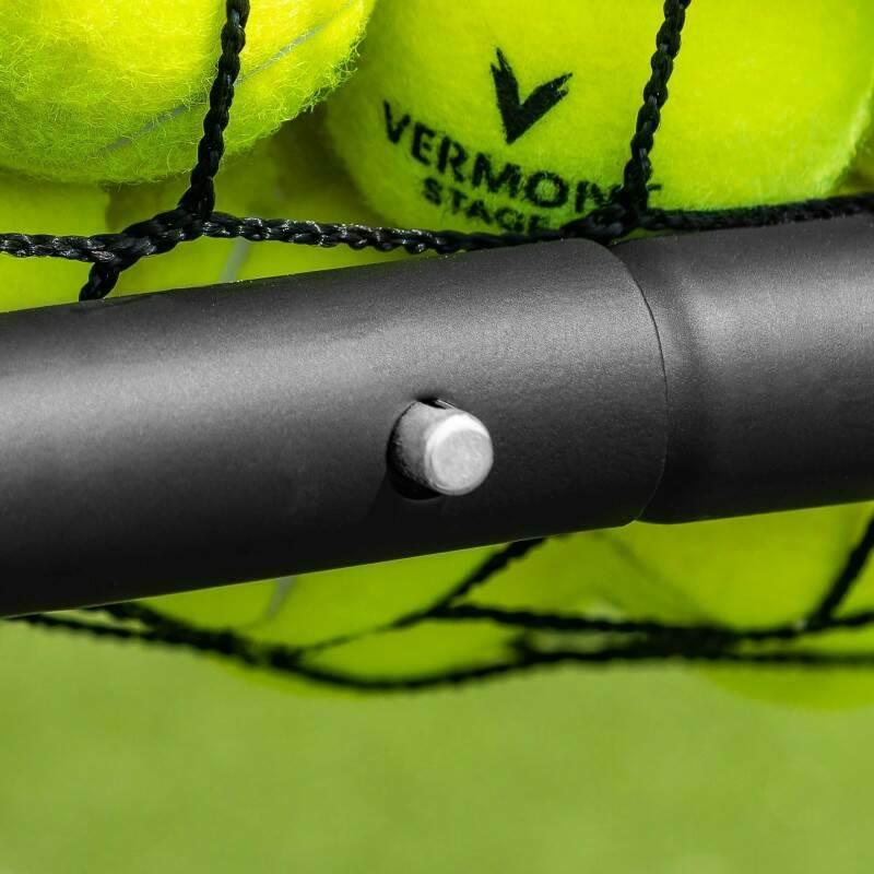 Tennis Ball Carry Cart   Tennis Basket With Wheels   300 Ball Capacity   Coaching Equipment   Net World Sports