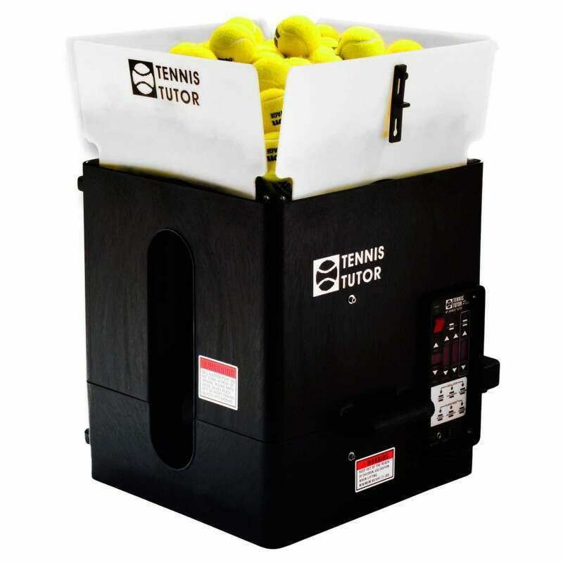 Tennis Tutor Plus Tennis Ball Machine | Tennis Ball Machines | Tennis Ball Hoppers | Net World Sports
