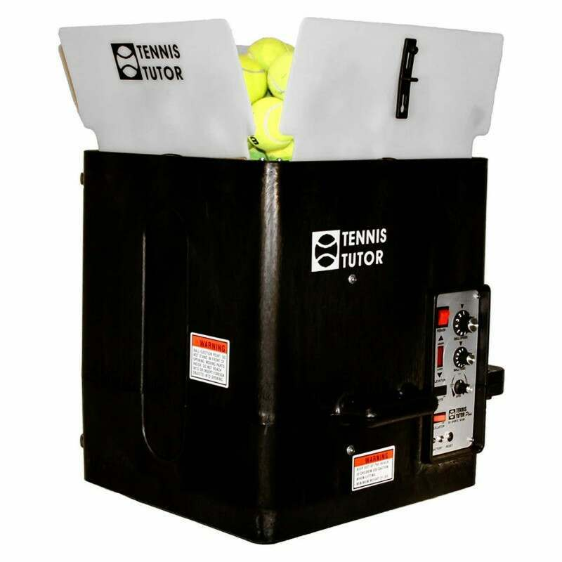 Tennis Tutor Plus Player Tennis Ball Machine | Tennis Ball Machines | Tennis Ball Hoppers | Net World Sports