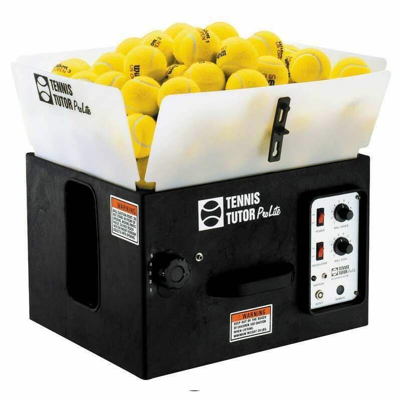 Tennis Tutor ProLite Tennis Ball Machine + Tennis Ball Launchers + Sports Tutor | Net World Sports