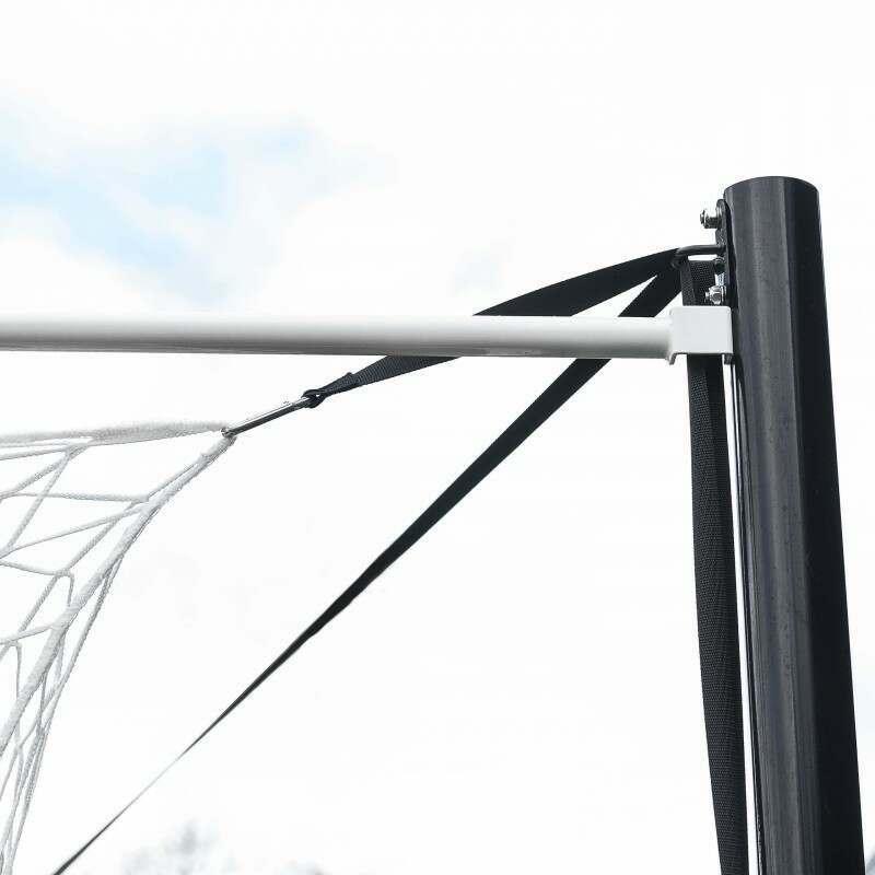 21 x 7 Stadium Box Soccer Goal Net