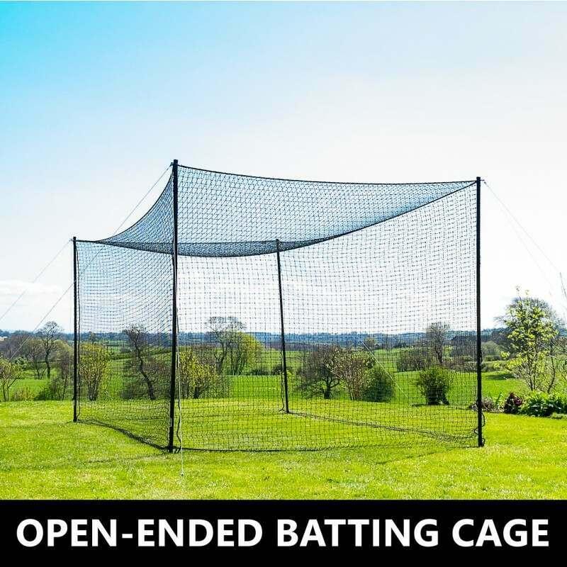 FORTRESS Ultimate Baseball Batting Cage & Poles