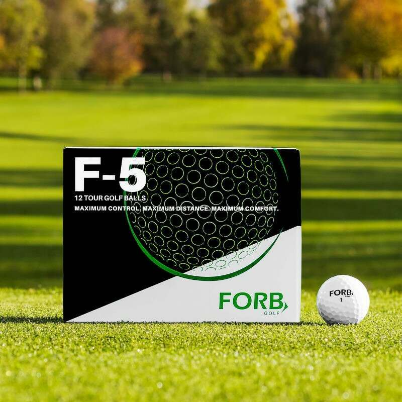 12 Pack Of Professional FORB Golf Balls | Net World Sports