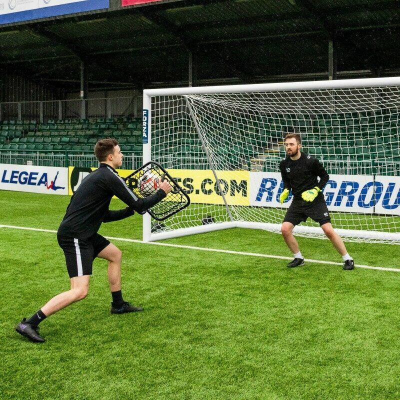 Football Goalkeeper Rebounder Training Drills