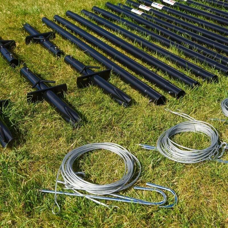 Replacement Poles & Guys for Surround System [Model 1]