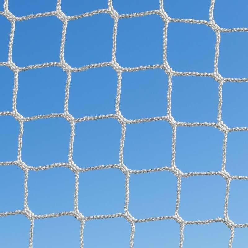 3mm HDPE Braided GAA Goal Net With 50MM Mesh   Net World Sports