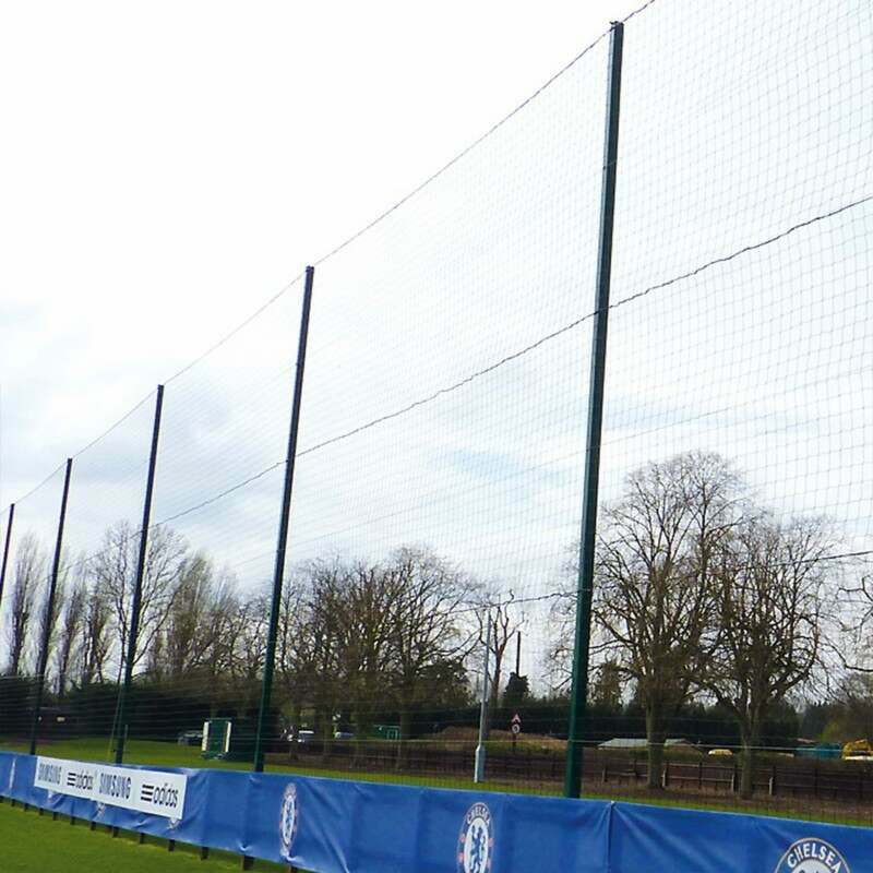 Sports Pitch Ball Stop System