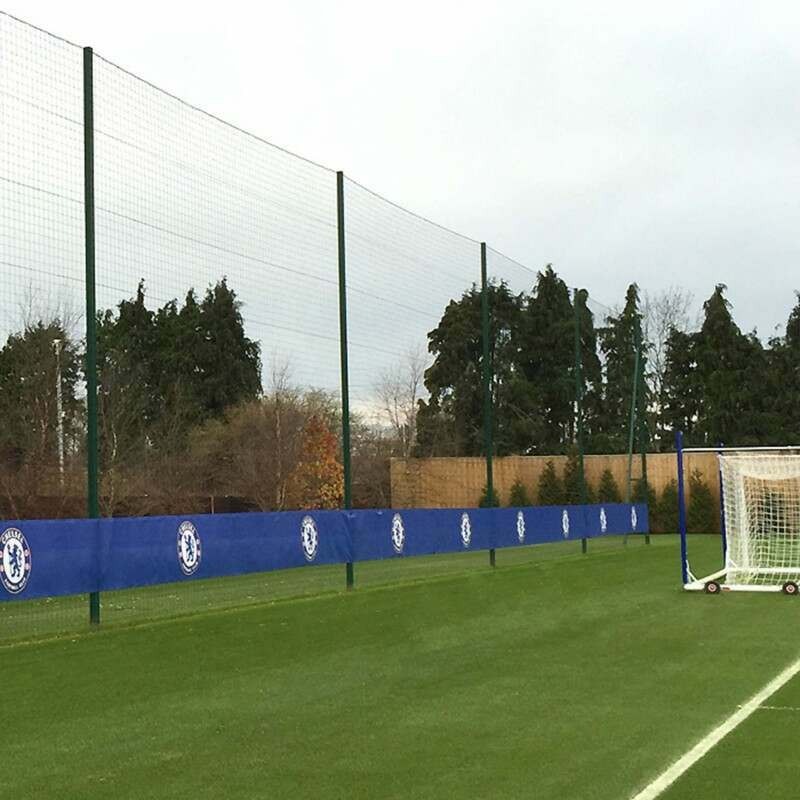 Ball Stop System Fence | Pitch Side Fencing