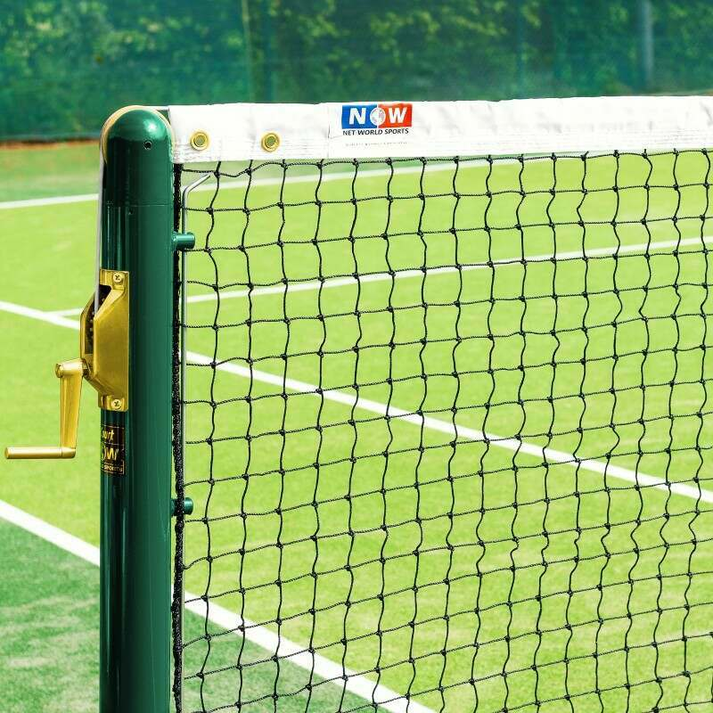 Ultra Durable Singles Tennis Net For Tennis Courts | Net World Sports