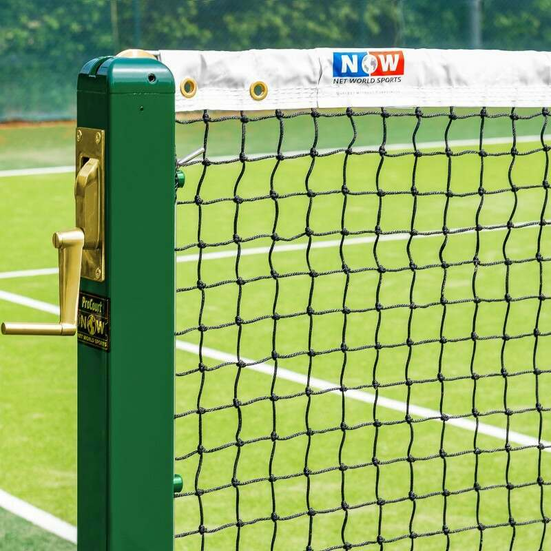 Vermont 3mm Tennis Net | 42ft Regulations Doubles Tennis Net | Net World Sports