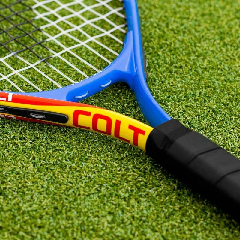 Ultra-Durable Mini Red Tennis Rackets   Net World Sports