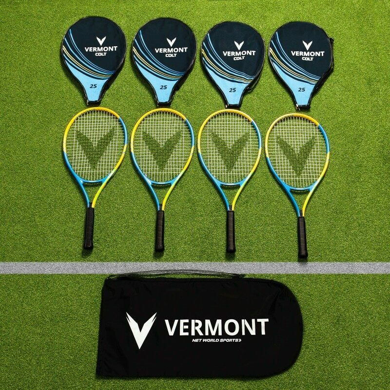 Vermont Mini Green Tennis Racket & Bag Set | Net World Sports